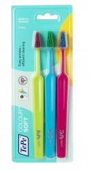 TePe - Select Colour Soft Fırça (3'lü ve renkli başlı)